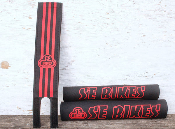 SE Bikes Padset Blk Red