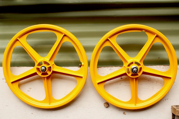 SKYWAY TUFF MAG WHEELS II SET 5 SPOKE
