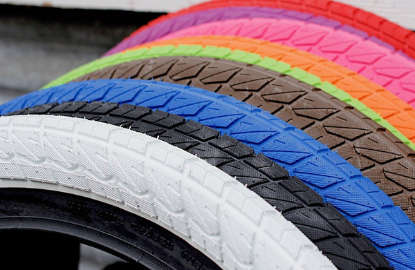 coloured bmx tyres - Sunday