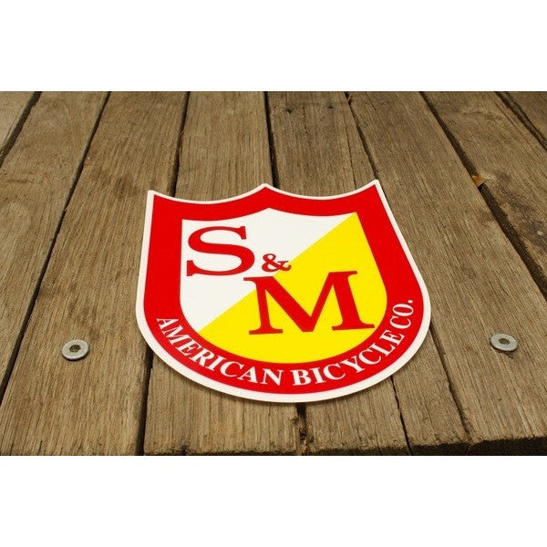 S & M bikes -S&M Big Shield Sticker -Magazines + stickers+patches -Anchor BMX