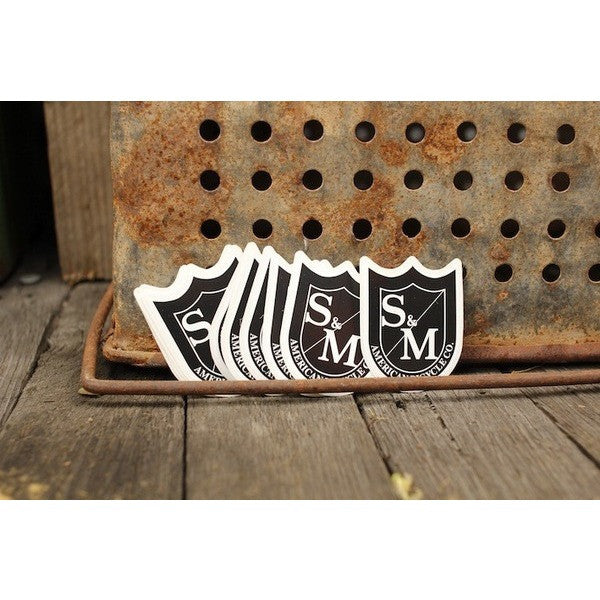 S&M BIKES SHIELD STICKERS 10PK - Anchor BMX