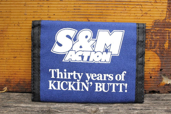 S & M bikes -S&M Action 30 Year Wallet -ACCESSORIES -Anchor BMX