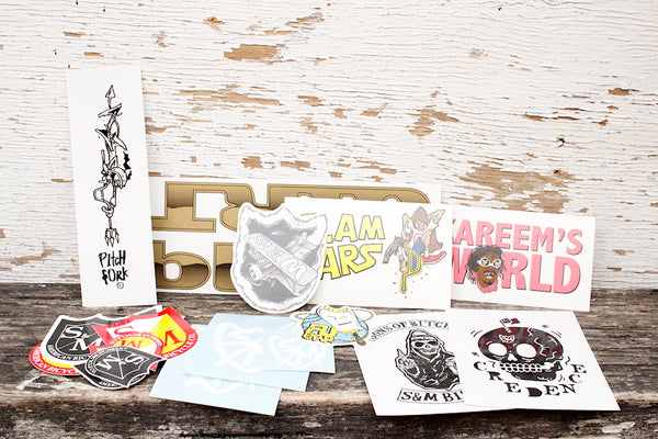 S&M Assorted 20pc Sticker Pack - Anchor BMX