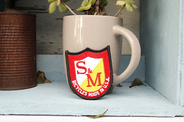 S&M Bikes Shield Patch