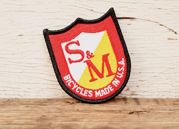 S&M Bikes Shield Patch - Anchor BMX