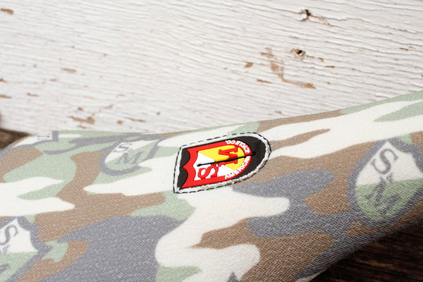 S&M Bikes Pivotal Camo Shield Wrap Seat - Anchor BMX