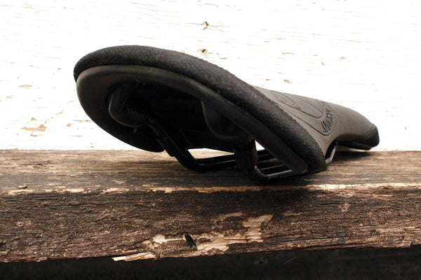 S&M Railed Shield Leather Seat - Anchor BMX