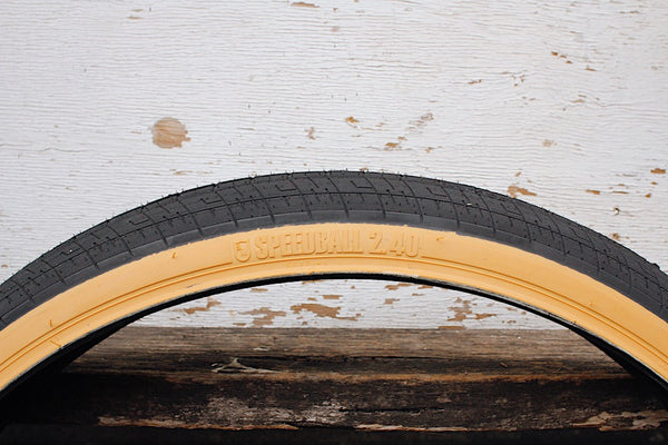 S&M Bikes Speedball 26 Inch Tyre Tan Wall - Anchor BMX