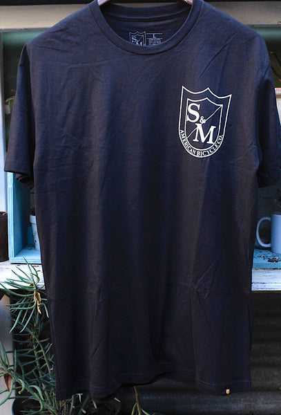 S&M Two Shield Tee - Anchor BMX