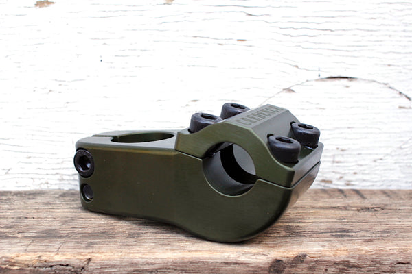 S&M CREDENCE TURTLENECK STEM ARMY GREEN - ANCHOR BMX