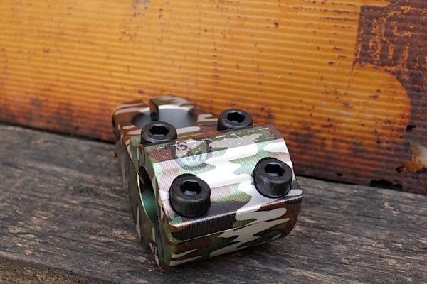 S&M Credence Turtleneck Stem Camo Shield Wrap