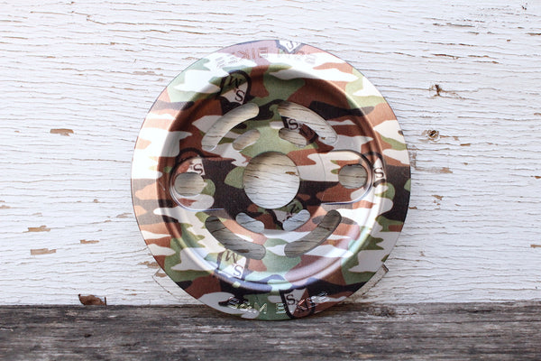 S & M bikes -S&M Drain Man Guard Sprocket Camo Shield Wrap -SPROCKETS -Anchor BMX