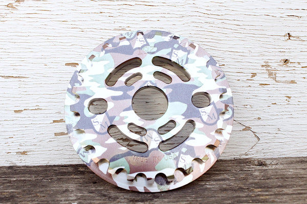 S&M Drain Man Guard Sprocket Camo Shield Wrap