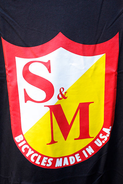 S & M bikes -S&M OG Shield Tee -CLOTHING -Anchor BMX
