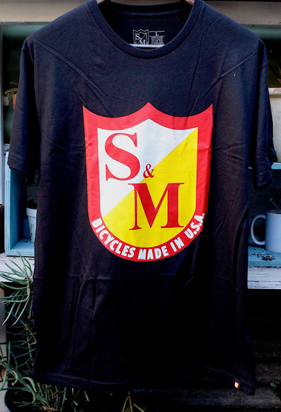 S&M OG Shield Tee - Anchor BMX