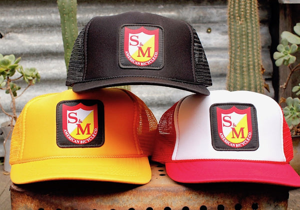 S&M PATCH TRUCKER HAT