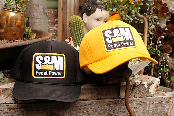 S&M Pedal Power All Foam Winter Trucker - Anchor BMX