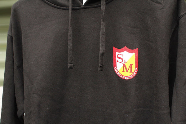 S&M SHIELD PULL OVER HOODIE