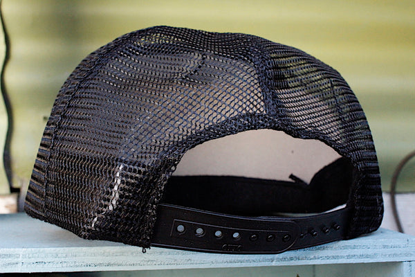 S & M bikes -S&M Shovel Shield Trucker Hat -HATS + BEANIES + SHADES -Anchor BMX