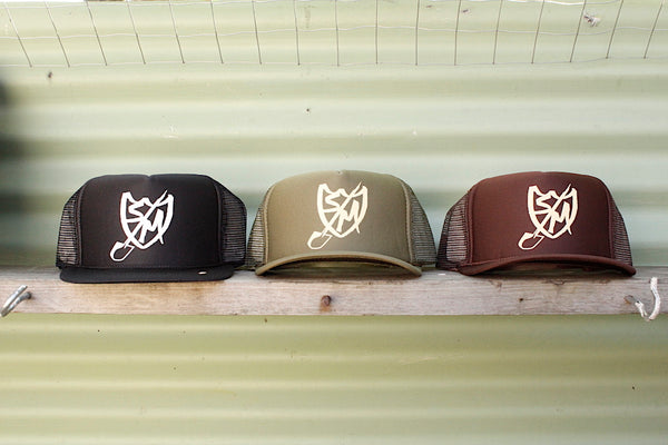 S&M Shovel Shield Trucker Hat
