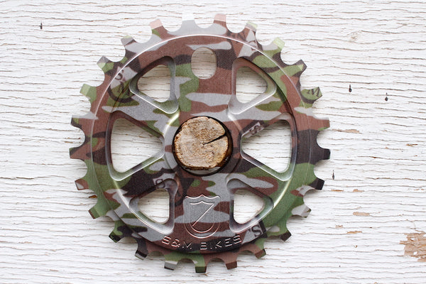 S&M X-Man Sprocket Camo Shield Wrap - Anchor BMX