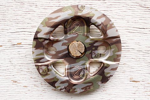 S & M bikes -S&M X-Man Guard Sprocket Camo Shield Wrap -SPROCKETS -Anchor BMX