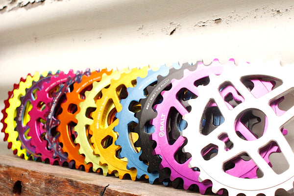 BMX Parts In Colours - Sprockets
