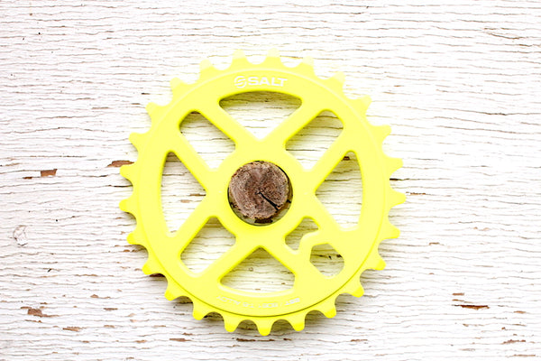 Salt Pro Sprocket Neon Yellow