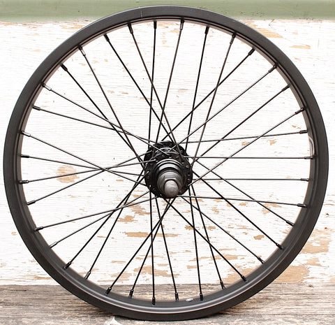 SALT -Salt Rookie 18 Inch Rear Wheel -WHEELS + SPOKES + BUILDS -Anchor BMX