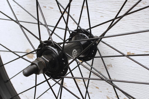 SALT -Salt Rookie Front Wheel -WHEELS + SPOKES + BUILDS -Anchor BMX