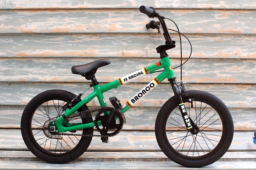 Se Bikes Bronco 16 Inch Bmx 2019 Green - Buy Now