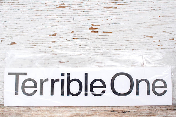 TERRIBLE ONE -Terrible One Sticker -Magazines + stickers+patches -Anchor BMX