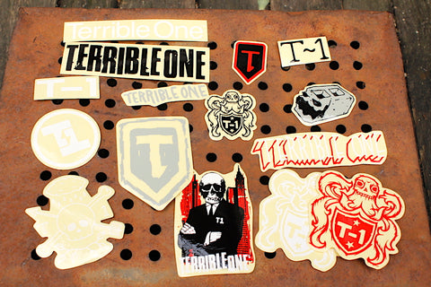 TERRIBLE ONE BMX STICKER PACK