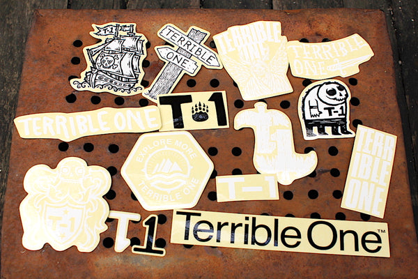 Terrible One Sticker Pack #2