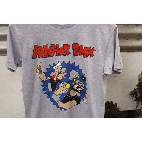 ANCHOR FIGHTING WORDS TEE / POPEYE