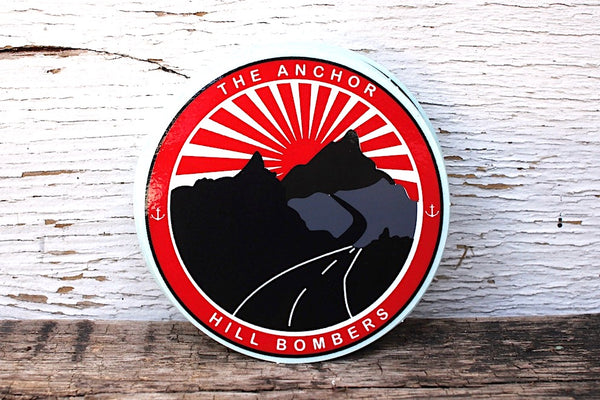 The Anchor Hill Bombers Sticker 10Pk