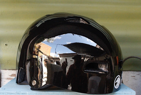 THE SHADOW CONSPIRACY -TSC Classic Helmet Gloss Blk -HELMETS + PADS + GLOVES -Anchor BMX