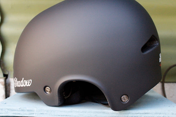 THE SHADOW CONSPIRACY -TSC Featherweight Helmet Matte Blk -HELMETS + PADS + GLOVES -Anchor BMX