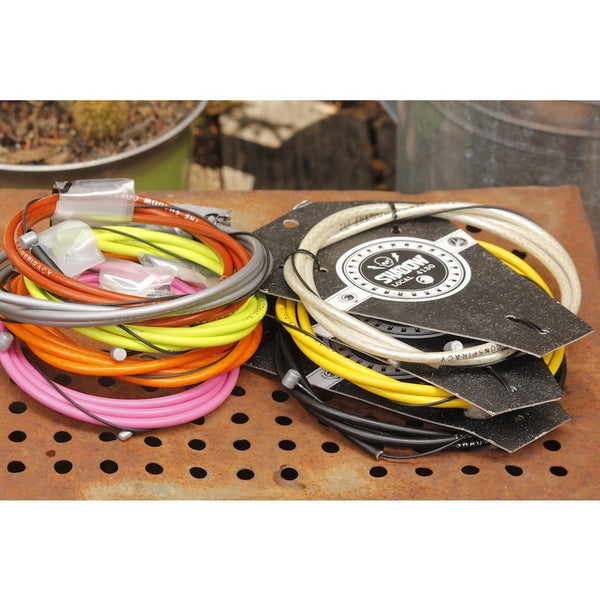 BMX BRAKE CABLE - TSC LINEAR CABLE - ASSORTED COLOURS AUS