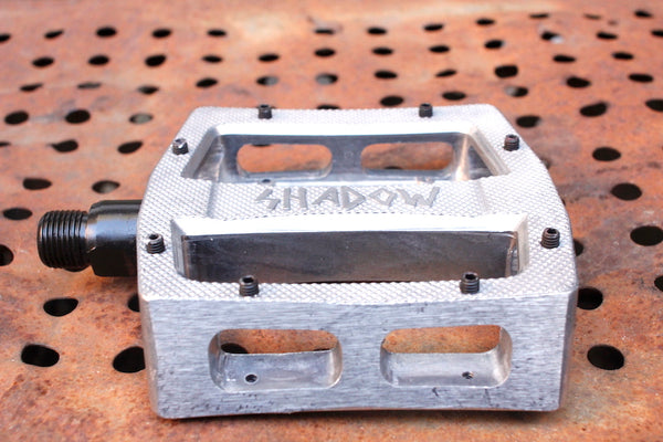 TSC RAVAGER ALLOY PEDALS SILVER