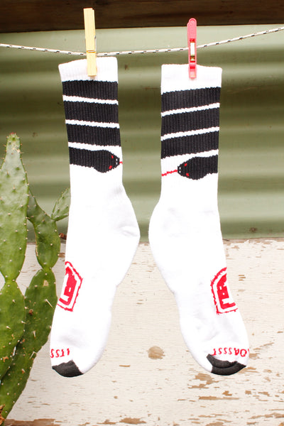 Terrible One Snake Stripe Socks