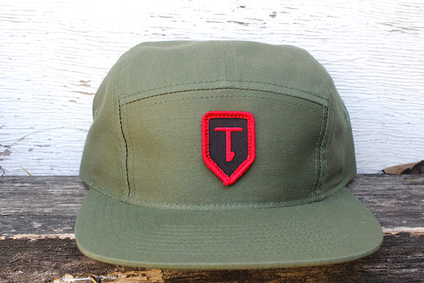 Terrible One Patch Hat Olive