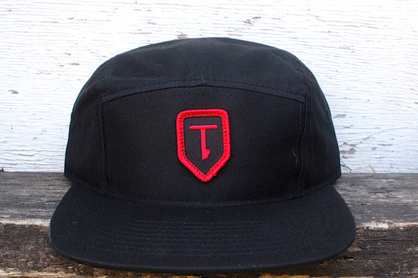 Terrible One Patch Hat black