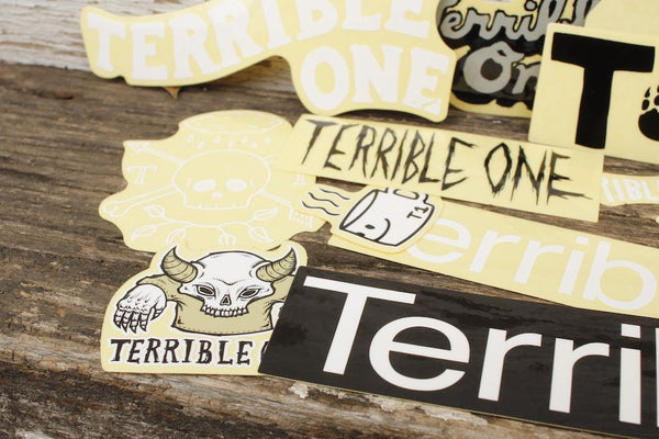 Terrible One Sticker Pack - Anchor BMX