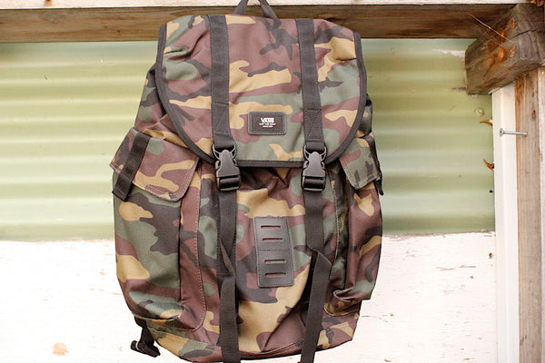 Vans Off The Wall Backpack Camo