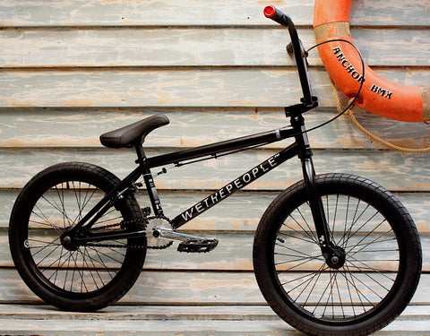 WETHEPEOPLE -WeThePeople Reason 2020 Matte Black -Complete Bikes -Anchor BMX