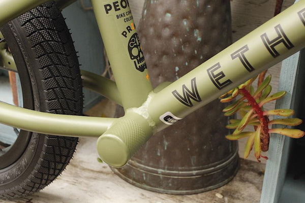 WeThePeple Prime Balance Bike Olive 2020 - Anchor BMX