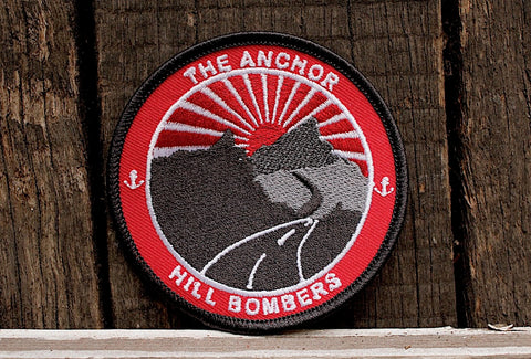 Anchor BMX -Anchor Hill Bombers Patch -Magazines + stickers+patches -Anchor BMX