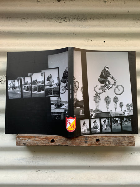S & M bikes -S&M Behind The Shield Book -Magazines + stickers+patches -Anchor BMX