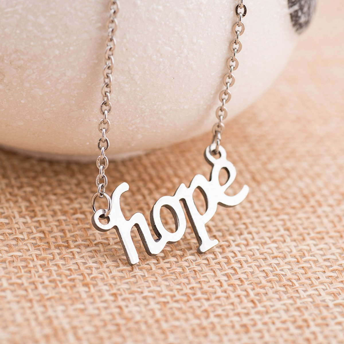 A1giftshop jewelry earrings for graduation necklace Smile and Hope Pendant Necklace